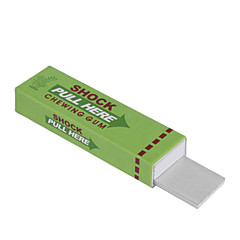 Shock-You-Friend Electric Shock Chewing Gum Practical Joke Prop (Random Color)