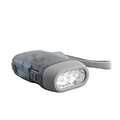 3-ledda dynamo batteri-fri ficklampa
