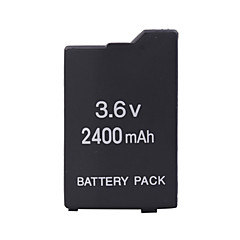 batteripakke for Sony PSP (2400mah)