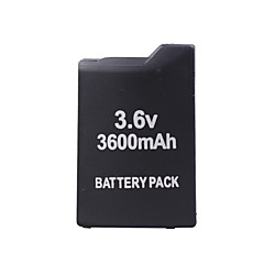 3600mah batteripakke for Sony PSP