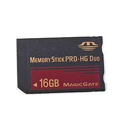 16GB Memory Stick PRO-HG Duo Memory Card