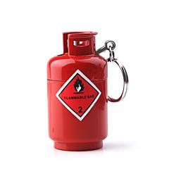 petite forme du réservoir briquet à gaz, rouge