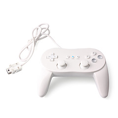 Grip Style Classic Controller for Wii/Wii U (White)