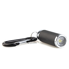 Mini 1-Mode Zoom LED Keychains Set (3xLR44, Black)