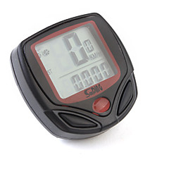 Digital LCD Cykelcomputer Speedometer 13 Funktioner