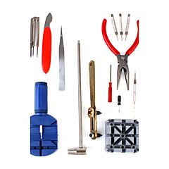 Kit strumenti di riparazione orologi 16-in-1