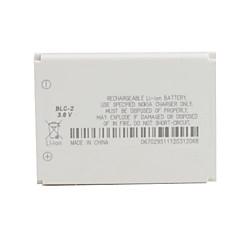 노키아 3310을위한 3.6V ~ 900mah 리튬 이온 배터리 - BLC-2 (흰색)