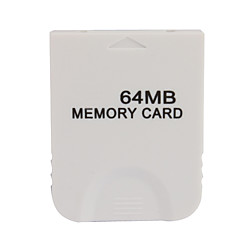 64mb cartão de memória para wii