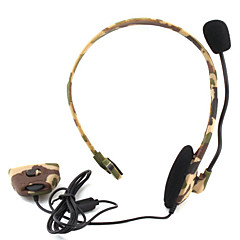 Headphone Microphone Headset for Xbox 360 Live (Camouflage)