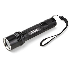 Uniquefire L2 Waterproof Cree XM-L T6 LED Flashlight (1000LM, 1x18650, Black)