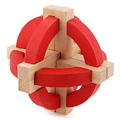 Cube de Vitesse  Alien Cubes magiques Rouge Bois