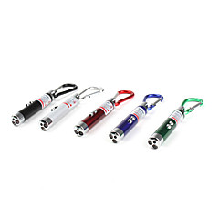 Key Chain Flashlights LED 2 Mode Lumens Others LR44 Others , Multi-Colored Plastic