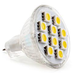 GU4(MR11) 2W 10 SMD 5050 120 LM Warm White / Cool White MR11 LED Spotlight DC 12 V