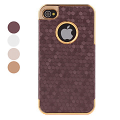 Etui Style Hexagone pour iPhone 4/4S - Couleurs Assorties