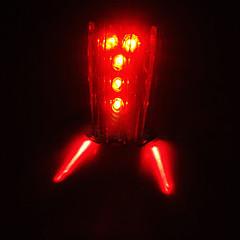 Eclairage sécurité vélo / Ecarteur de danger / Lampe Arrière de Vélo LED Cyclisme Transport Facile / Avertissement AAA Lumens Batterie