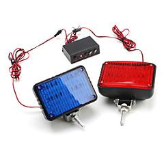 multi-função luz estroboscópica com controle de flash azul e luz vermelha