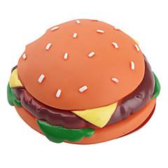 애완견용 소리나는 햄버거모양 장난감