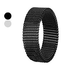 eruner®novelty 6 mm de acero de titanio anillo netty transmutable