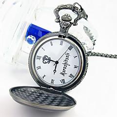 Klok/Horloge geinspireerd door Black Butler Ciel Phantomhive Anime Cosplay Accessoires Klok/Horloge Zilver Legering Mannelijk