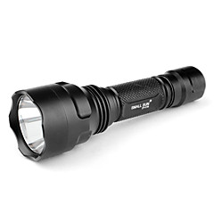 lille søn ZY-C18 5-mode Cree XR-e Q5 LED lommelygte (240lm, 1x18650)