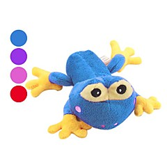 The Frog Prince Style Squeaking Pet Toy for Dogs (15 x 11 x 8, Assorted Colors)