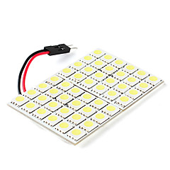 5050 SMD 48-LED White Light Bulb for Car (DC 12V)