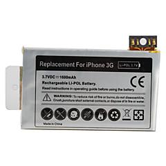 아이폰 3g을위한 도구 1600mah 3.7V 교체 리튬 배터리