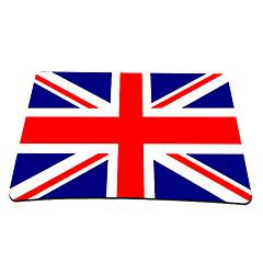 Union Jack plataforma de juego del ratón óptico (9 x 7 pulgadas)