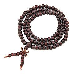 Handmade Wood Beads Multi-Storey Bracelet