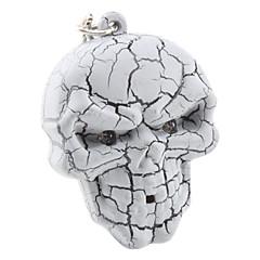 Halloween breloc craniu cu lumină și efecte sonore (de culoare aleatorii)