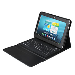 Bluetooth 3.0 QWERTY-Tastatur mit Tasche für Samsung Galaxy Tab 10.1 P7500 P7510