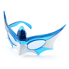 LED Blinkende Batman Mask Briller for Kids (Assorterede farver)