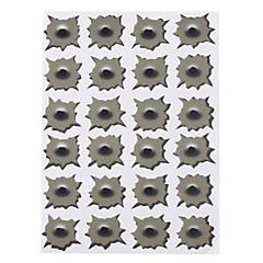 Bullet Holes stil Farlige Illusions Stickers