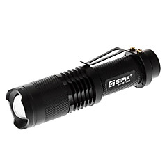 Sipik SK98 Zoom 5-Mode Cree XM-L T6 LED Flashlight (1000LM, 1x18650)