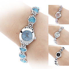 Women's Crystal Heart Style Alloy Quartz Analog Bracelet Watch (Assorted Colors) Cool Watches Unique Watches