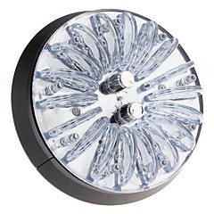 1-5W RGB Light Crystal Akryl LED Bil Top Lamp (12V)
