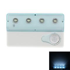 Infrared Sensor 0.5W White Light Mini LED Lamp (2xAAA/USB)