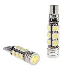 CANBUS T10 1.5W 12x5050 SMD White LED Bulb for bil Reading / Side Marker / Dashboard Light (12V, 2-Pack)