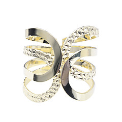 Fashion Imitation Rhodium Glaze Arc Shaped Bracelet