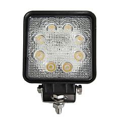 24W Rectangle 8 LED Work Light