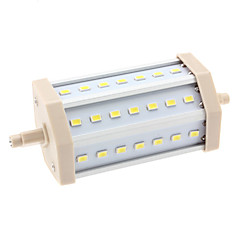 10W R7S LED Corn Lights T 21 SMD 5630 1000 lm Natural White AC 85-265 V