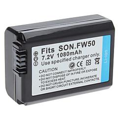 Digital Video akku Korvaa Sony FW50 Sony NEX NEX3 (7.2V, 1080 mAh)