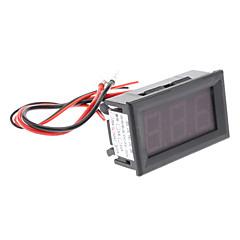 50A 3-Digit ampèremètre panneau d'affichage numérique avec résistance de shunt (Noir, DC 4 ~ 30V)