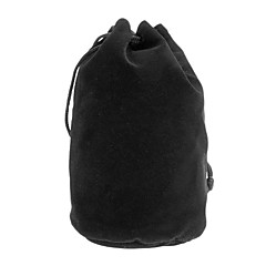 Protective Cotton Flannel Bag for Camera Lens C6 (100*190mm, Black)