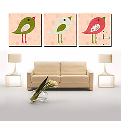 Modern Scenic Canvas Wall Clock 3pcs K010