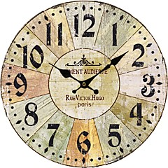 País Reloj de pared floral