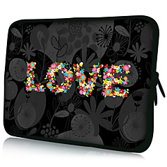 "Kocham wzór 7 ""/ 10"" / 13 ""Case Laptop Sleeve dla MacBook Air Pro / iPad mini / Galaxy tab2/sony/google Nexus 18063"