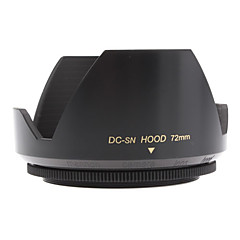 Mennon 72mm Lens Hood for Digital Camera Objektiver 16mm +, Film linser 28mm +