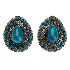 Z&X®  Retro Ancient Gem Drop Earring