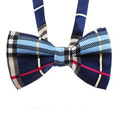 sencilla bowknot corbata para mascotas perros gatos (color clasificado, el cuello: 26-38cm)